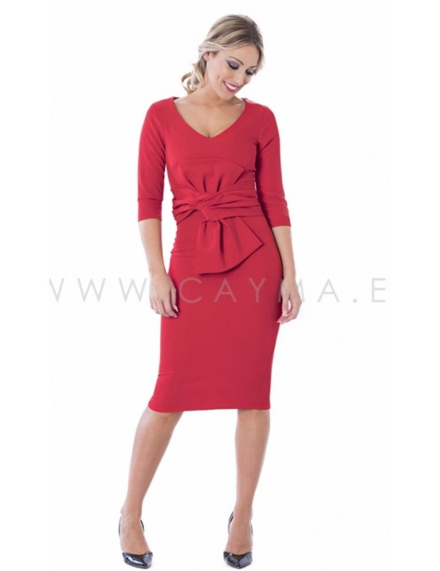 Vestido con manga - Selected by AINE