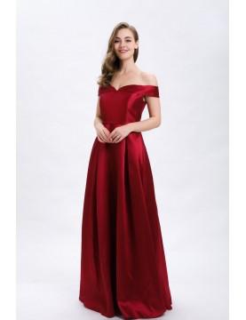 Vestido largo escote - AINE