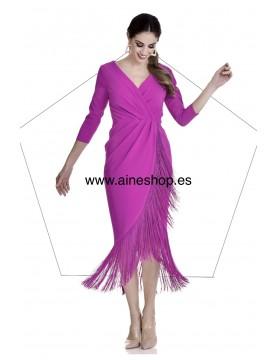 Vestido flecos - AINE