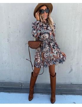 Vestido paisley - AINE